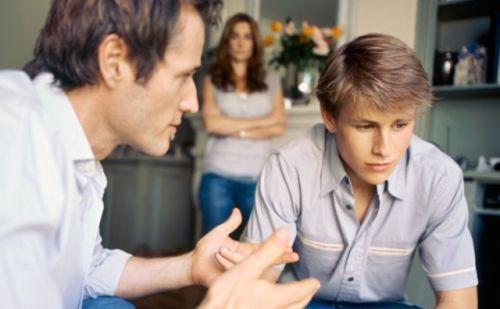 رفتار پدر در خانواده